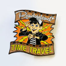 Load image into Gallery viewer, Randomland time travel enamel pin!