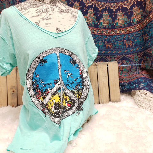 Graphic Tee: Peace of Nature