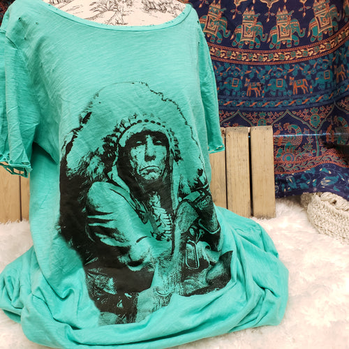 T-Shirt Dress: Sitting Bull
