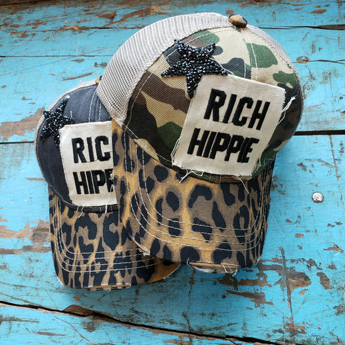 Hippie Love (Rich Hippie Baseball Cap)