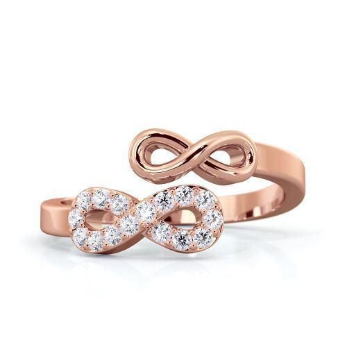 Queen Ng Double Infinity Ring