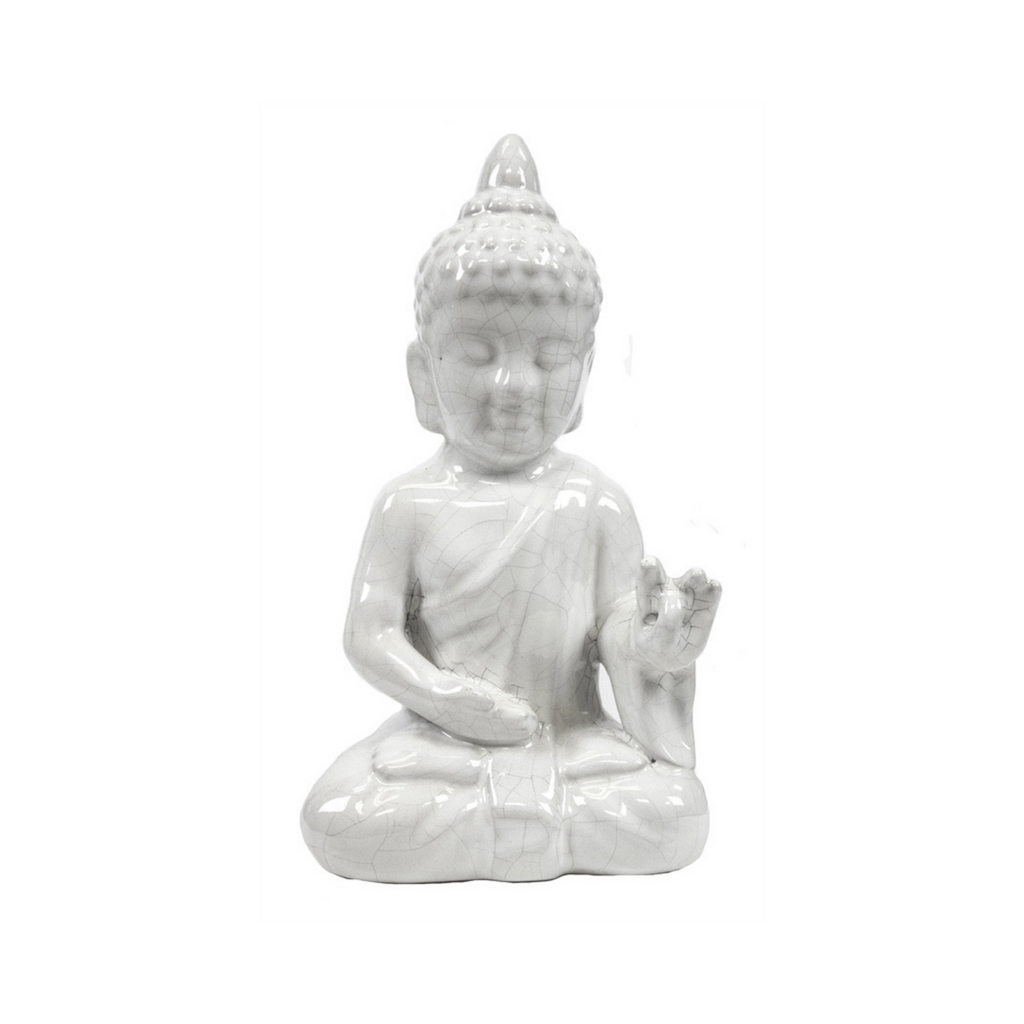 White Buddha Seated