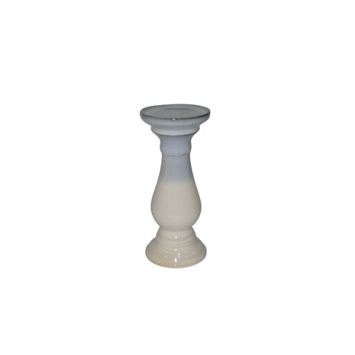 White/Grey Candle Holder