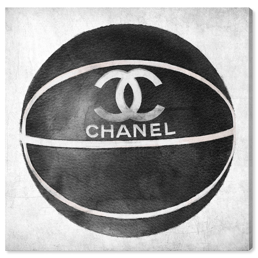 Chanel Fashion Basketball, Canvas