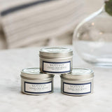 Clean Crisp White, Votivo Candle, Travel Tin