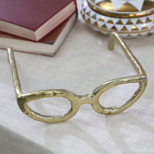 Gold Cat Eye Glasses