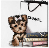 Chanel Yorkie Book Glam, Canvas