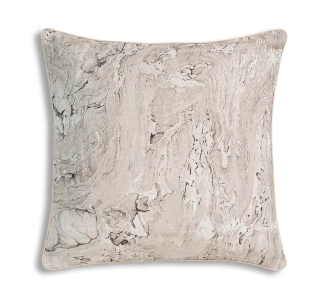 Marble Print Pillow