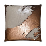 Ivory/Bronze Hylee Sequin Pillow