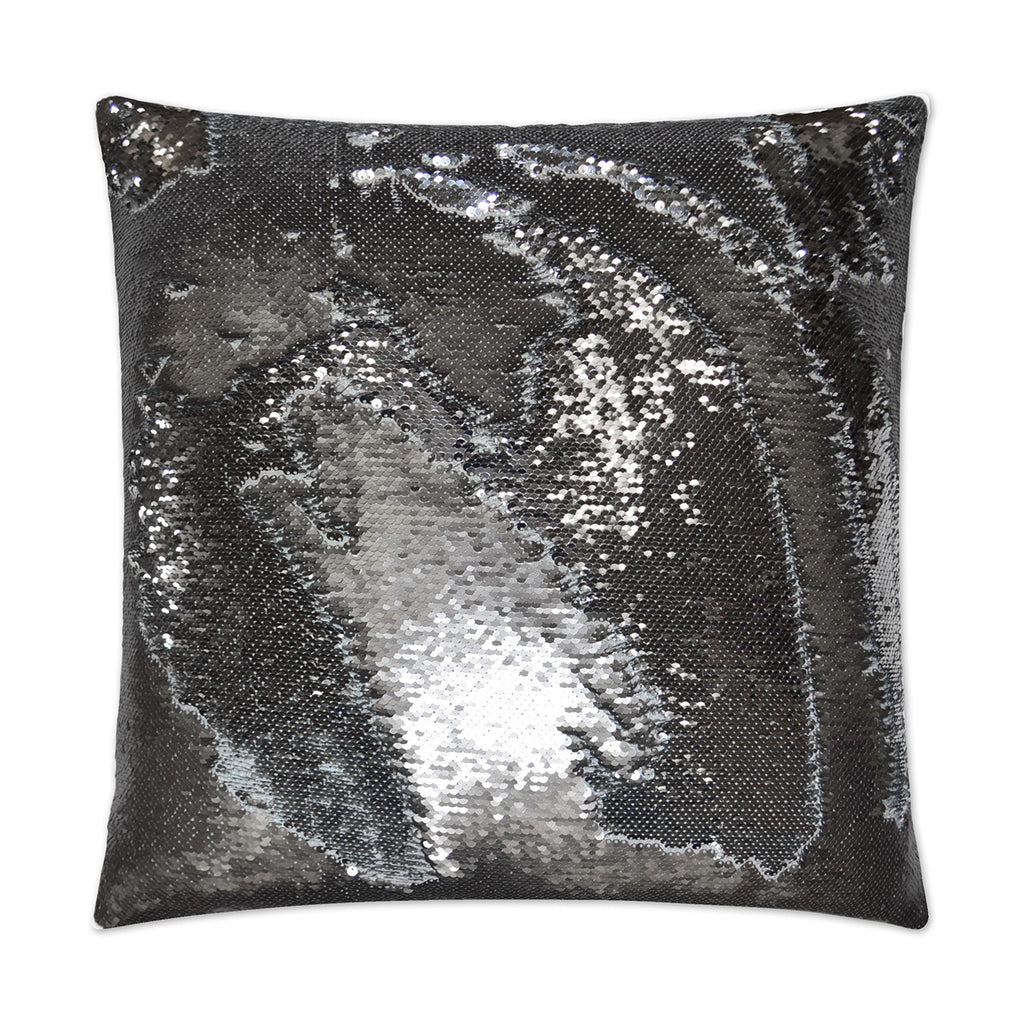 Pewter/Silver Hylee Sequin Pillow