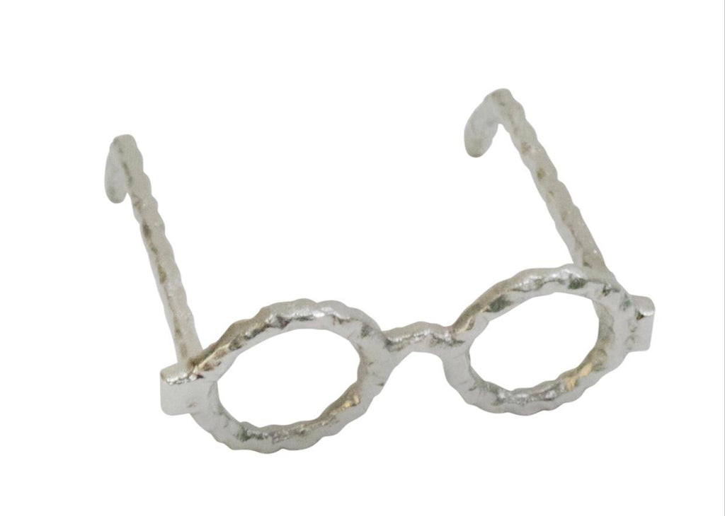 Round Silver Eye Glasses