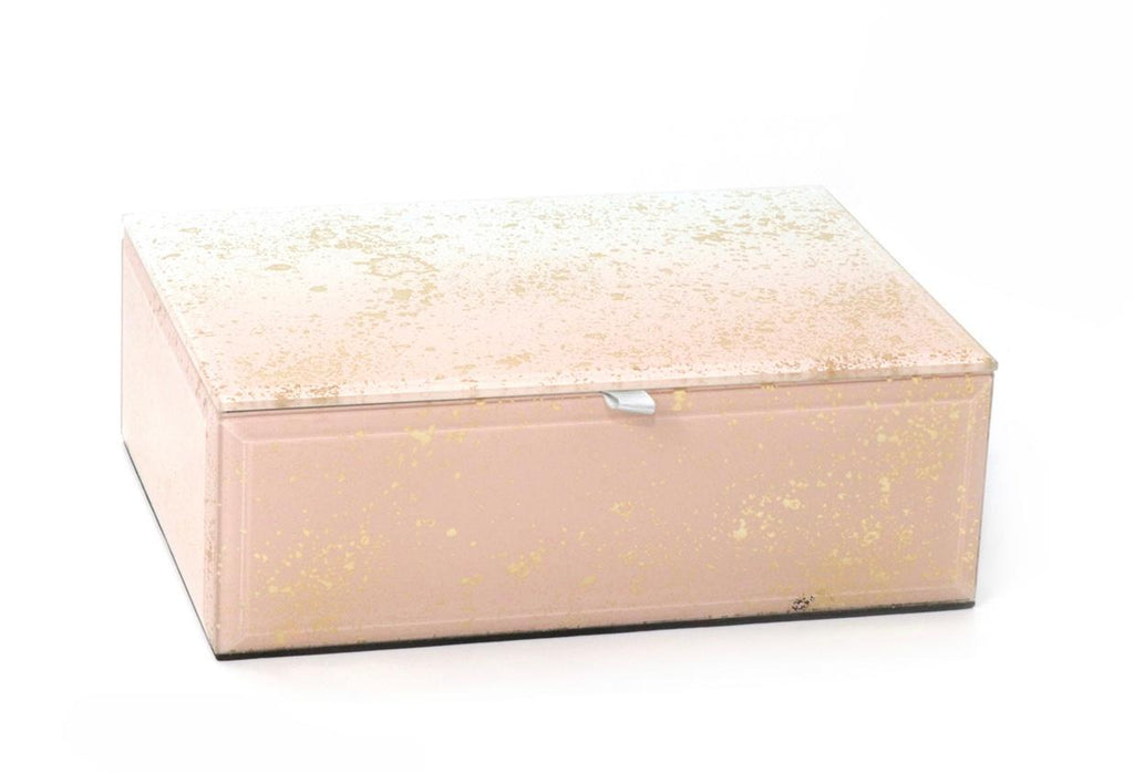 Pink and Gold Jewelry Box