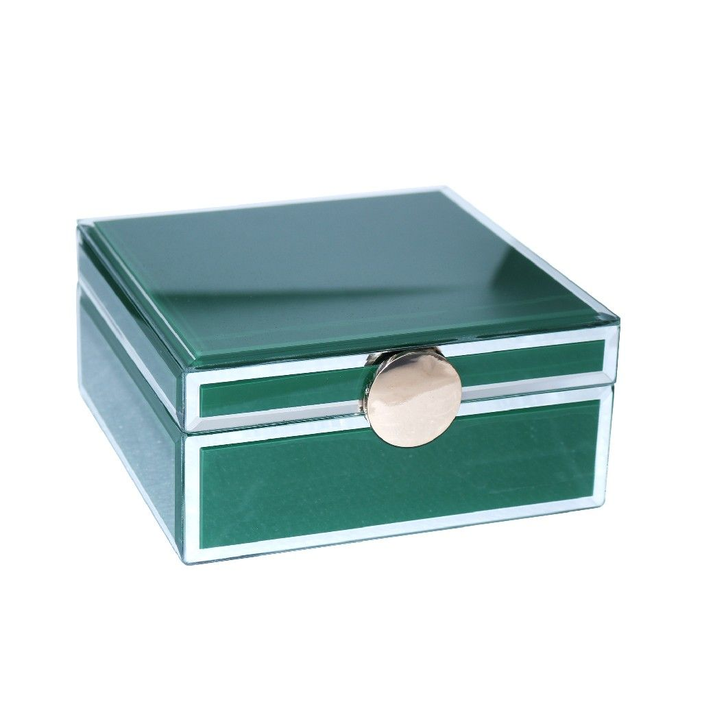 Green Jewelry Box