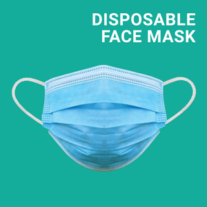 Disposable Face Masks - Pack of 50 - FREE SHIPPING
