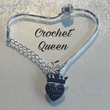 Handmade Silver Charm Bracelets, Choose Length and Charm - Funky Needles Knitting Boutique