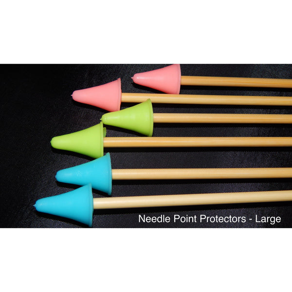 Giant Knitting Needles For Sale Uk : Needle point protectors funky needles knitting boutique