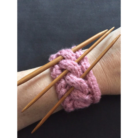 Boho Tool Bracelet/Cuff - Funky Needles Knitting Boutique