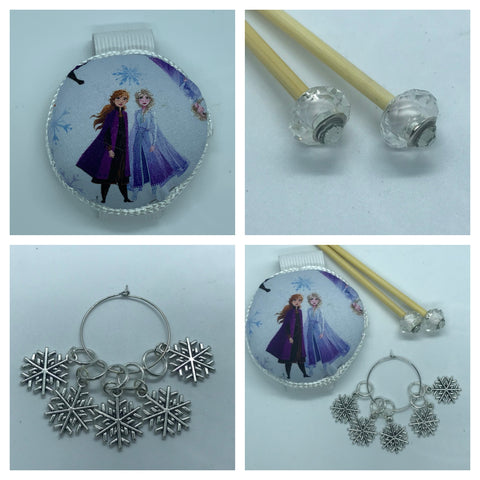 Disney Frozen Knitting Gift Set