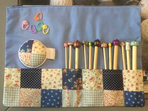 Full Set Of Crochet Hooks 12 Hooks + Case & Accessories