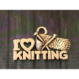 Handmade Knitting/Crochet Charm Necklaces - Choose Colour and Charm - Funky Needles Knitting Boutique