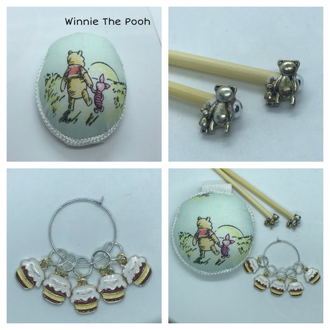 Winnie the Pooh Knitting Gift Set