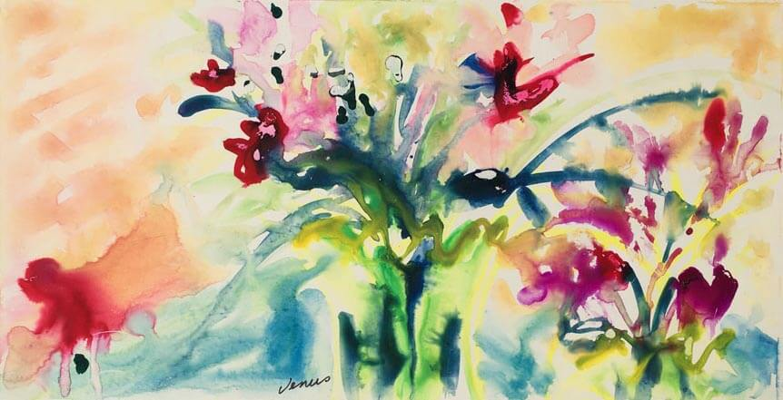 Watercolor Flowers #1