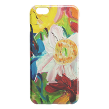Load image into Gallery viewer, White Poppy Close Up iPhone Case
