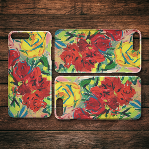Sunshine and Firelight iPhone Case