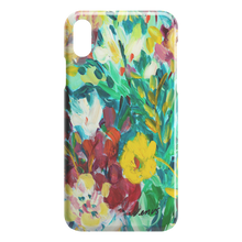 Load image into Gallery viewer, Sea Green and Coral iPhone Case