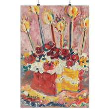 Load image into Gallery viewer, Happy Birthday Kitchen Cake - Archival Matte Wall Poster