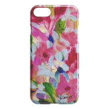 Load image into Gallery viewer, Pink Rapture Close Up iPhone Case