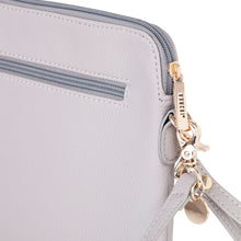 Load image into Gallery viewer, VANCHI Cross Body Clutch - Dove Grey - RRP $69.95