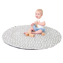 Load image into Gallery viewer, Baby Play Mat (Waterproof Backing) - Grey Birds - Outlook Baby