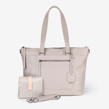 Load image into Gallery viewer, NEW! Billie Convertible Backpack / Tote Baby Bag - Barcelona Grey RRP $189.95