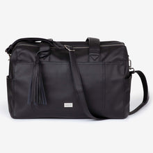 Load image into Gallery viewer, NEW! Kahlo Holdall 2-Compatment Nappy Bag - Black RRP $199.95