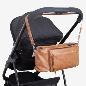 VANCHI Pram Caddy Shoulder Strap - Tan - RRP $19.95