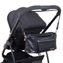 Load image into Gallery viewer, Pram Caddy Shouder Strap - Black - Outlook Baby