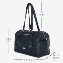 Load image into Gallery viewer, VANCHI Steffi Carryall Nappy Bag - Black