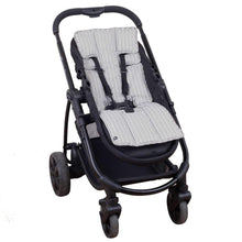 Load image into Gallery viewer, Pram Liner - Charcoal Aztec - Outlook Baby