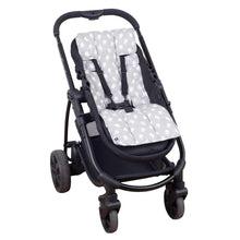 Load image into Gallery viewer, Pram Liner - Grey Birds - Outlook Baby
