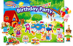 Birthday Party Magnet