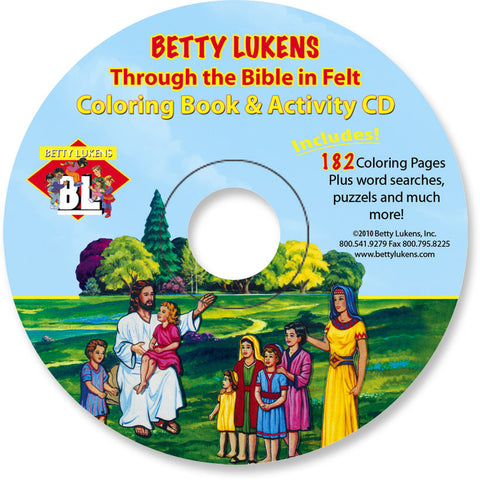 Betty Lukens - Learning Fun with Felt — Coloring Pages ...