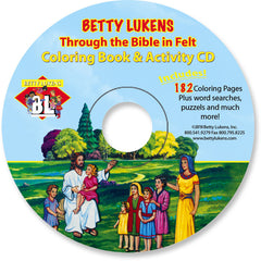 Coloring Pages & Activities on CD