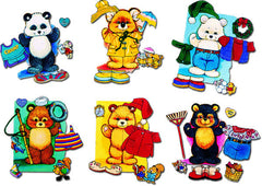 Seasonal Dress-Up Bears