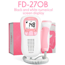 Load image into Gallery viewer, EASYLYF™ FETAL DOPPLER BABY HEARTBEAT DETECTOR - checkouthappiness