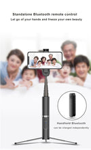 Load image into Gallery viewer, EASYLYF™ MAX BLUETOOTH SELFIE STICK WITH TRIPOD - checkouthappiness