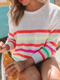 Jolimall Late Checkout Knit Sweater