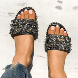 Jolimall Sequins Shiny Antiskid Sandals