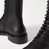 Jolimall Fashion Leather Ankle Boots