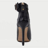 Jolimall Black High Heel Sexy Ankle Boots